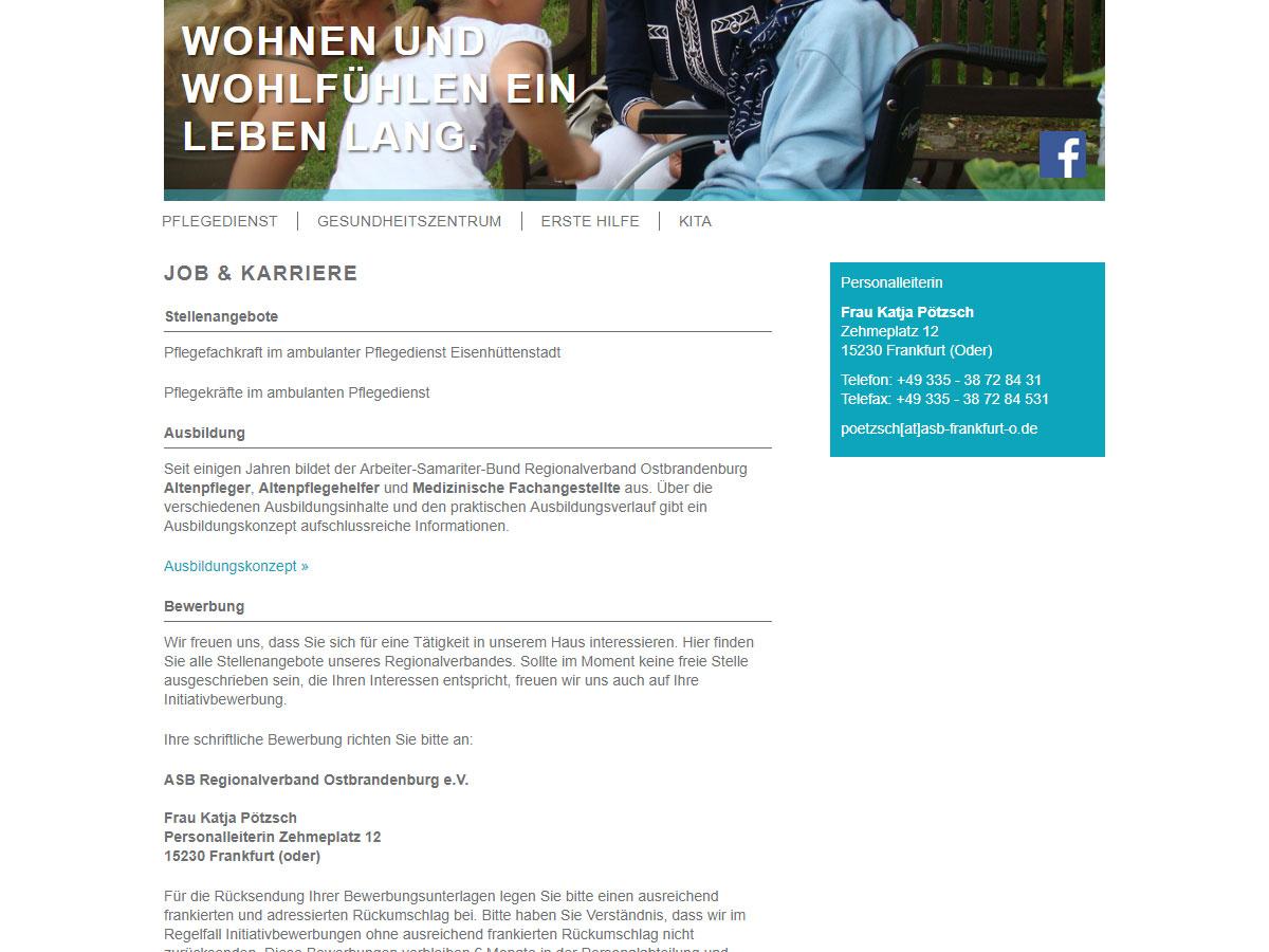 Blissmedia Asb Regionalverband Ostbrandenburg Ev